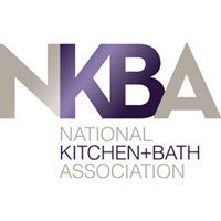 Logo for the National Kitchen + Bath Association, also known as NKBA.