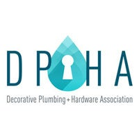 Logo for Decorative Plumbing and Hardware Association, also known as DPHA.